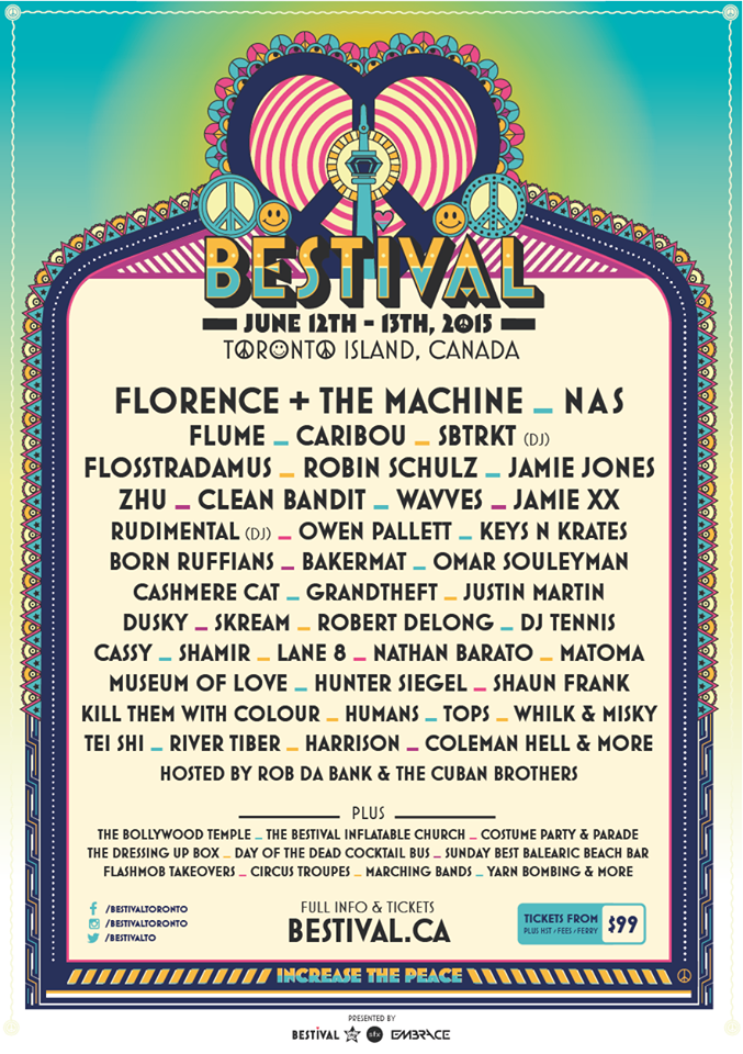 BESTIVAL-Lineup
